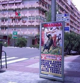 Un cartel de toros.