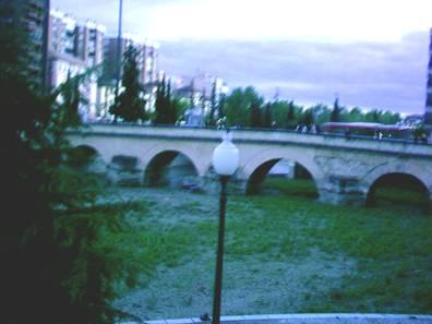 El viejo puente romano.