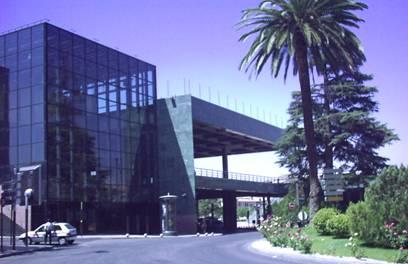 El Palacio de Congresos y Exposiciones de Granada.